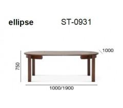 Bord og bordunderstell i tre